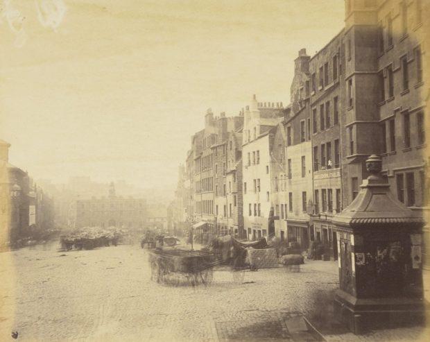 The Grassmarket, Edinburgh, About 1860, National Galleries of Scotland