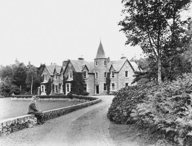 Photograph of Old Inverewe House|©National Trust for Scotland, Inverewe Garden