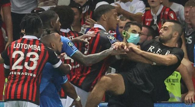 Nice, Marseille game abandoned after bottles thrown and 'players attacked'
