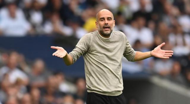 Guardiola laments City's inefficiency in Spurs defeat