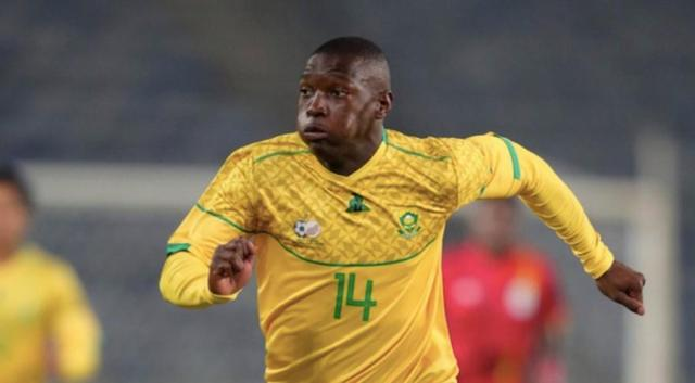 Hlongwane strike sends Bafana top of Group G
