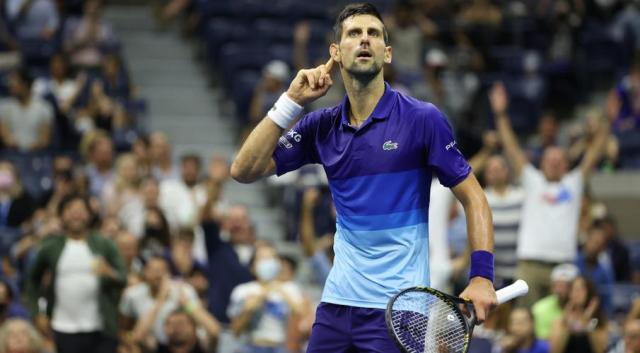 Djokovic says focus only on next match, not Slam