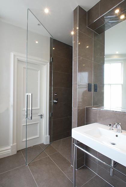 2 Frameless Wide Shower Doors SSI