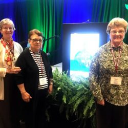 Left - right: Sisters Rosemary O'Brien, Ann Marie Cappello and Susan Herzing.