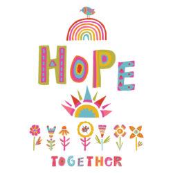 Plant A Seed Of Hope Corona Virus Motivation Banner. Social Medi