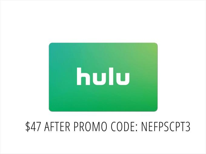 Hulu Plus 50 00 Gift Card Email Delivery Neweggflash Com