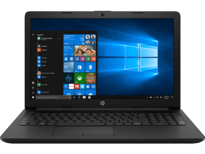 A laptop that is open