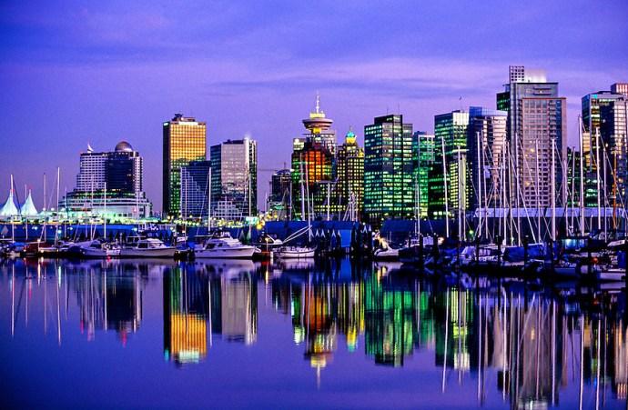 Mais Belas Cidades do Canadá para Morar Vancouver, British Columbia