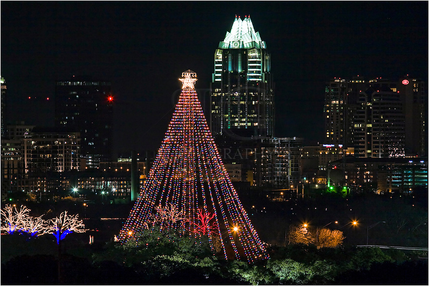 Christmas Trees In Austin Rainforest Islands Ferry & austin christmas tree lighting | Decoratingspecial.com azcodes.com