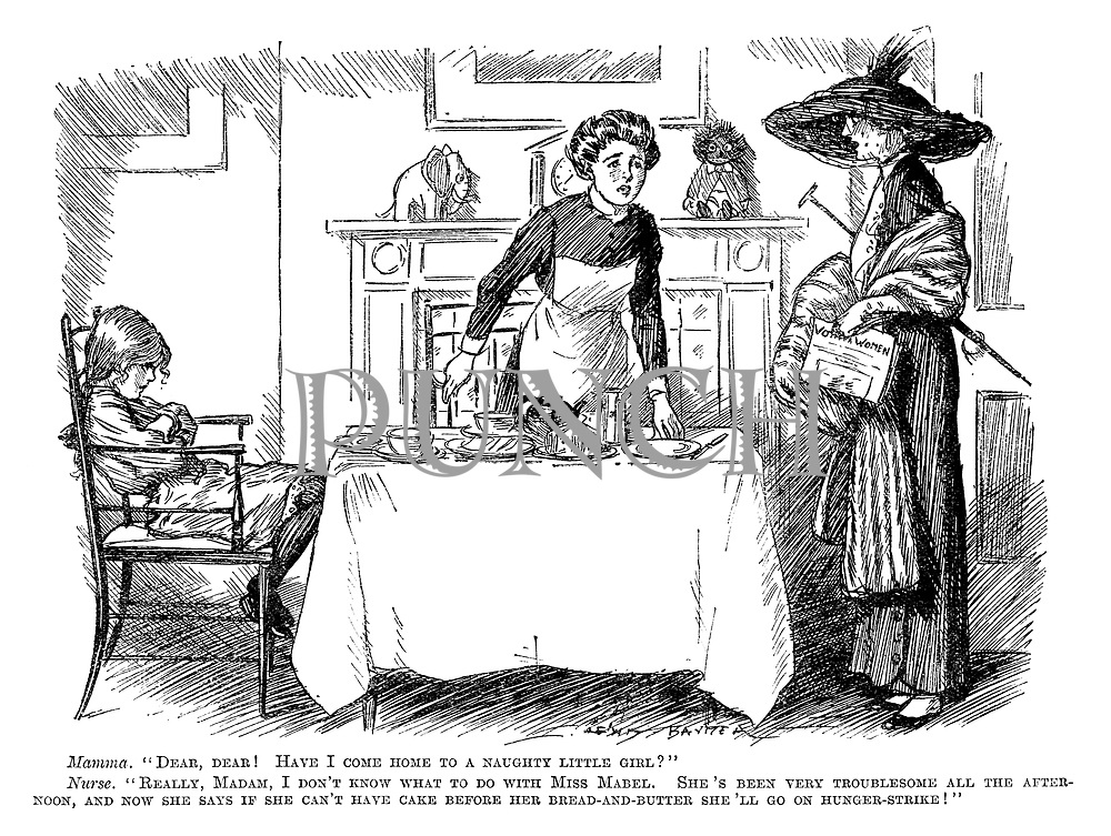 Suffragette And Votes For Women Cartoons From Punch