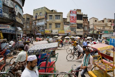 Street life, Old Delhi | Scott B. Rosen