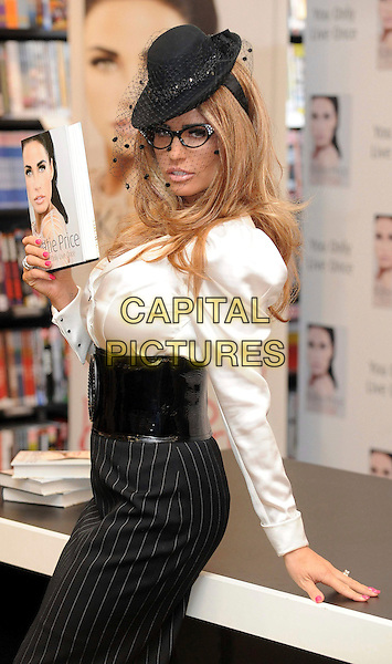 Katie Price Signs Copies Of Her New Book You Only Live