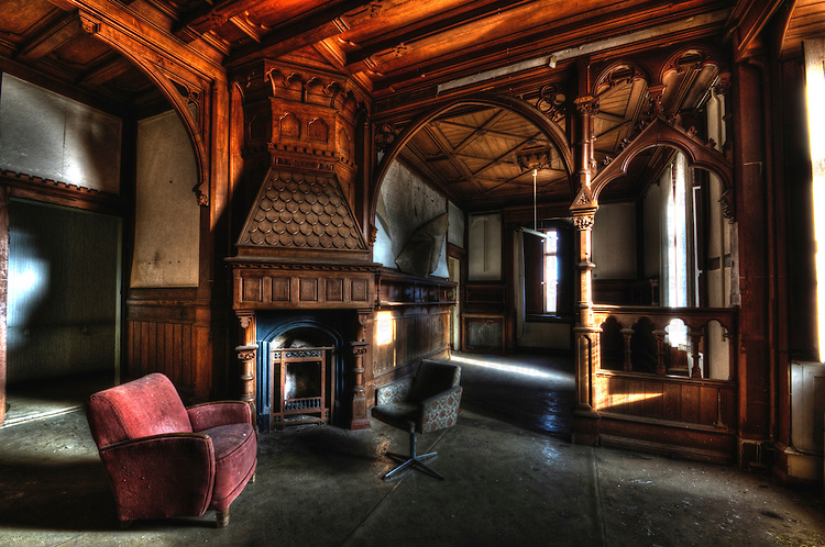 Empty Interior Of Large House Trigger Image