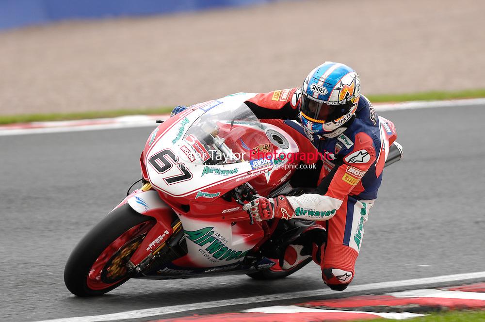 Shane Byrne – Airwaves Ducati – Ducati 1098R