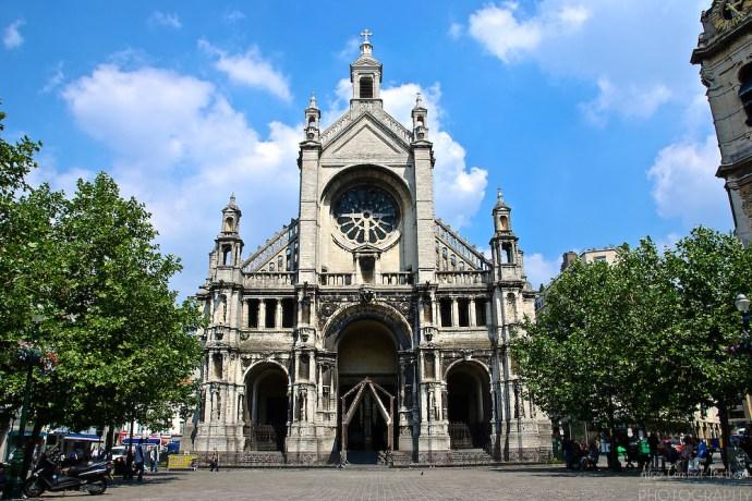 o que fazer em Bruxelas Sainte Catherine