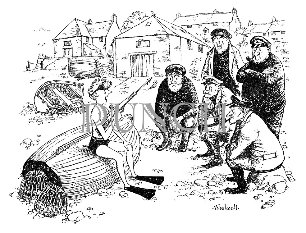 Norman Thelwell Cartoons From Punch Magazine