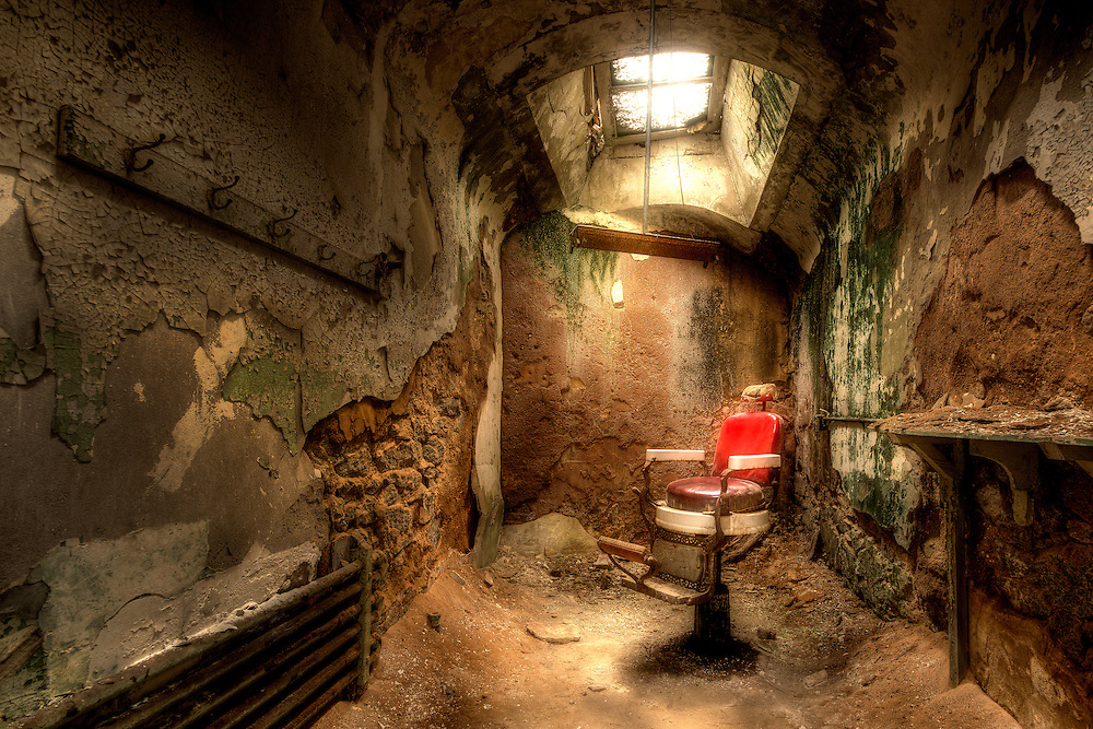 The Barber Eastern State Penitentiary Walter Arnold