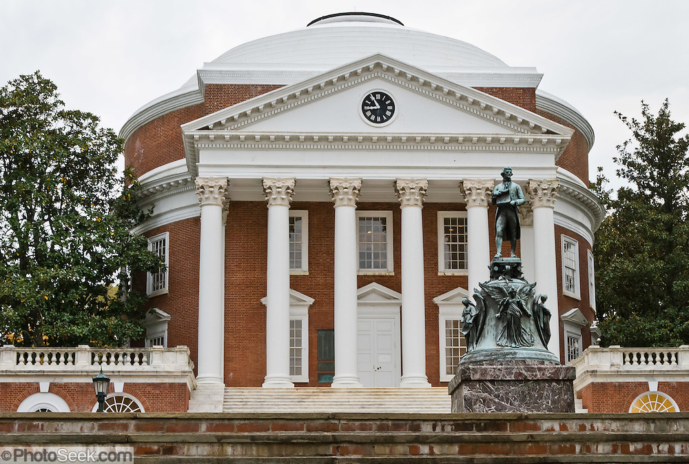 Thomas University Rotunda Virginia Jefferson S