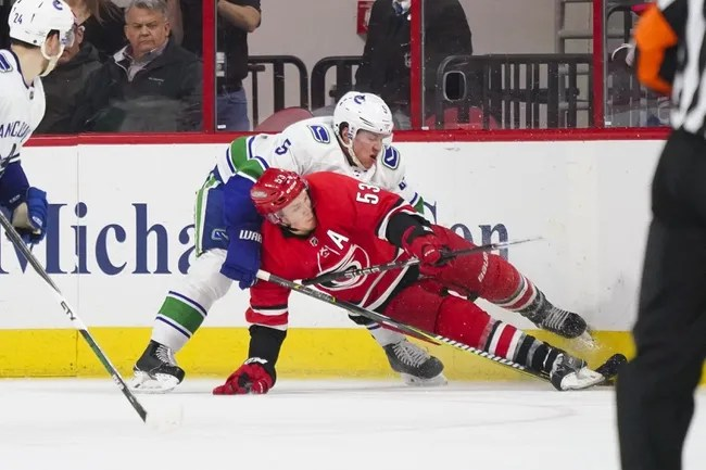 Carolina Hurricanes vs. Vancouver Canucks - 10/9/18 NHL Pick, Odds, and Prediction