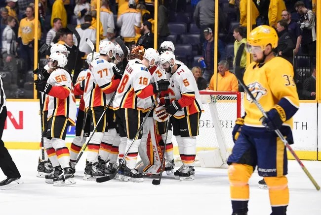 Nashville Predators vs. Calgary Flames - 10/9/18 NHL Pick, Odds, and Prediction