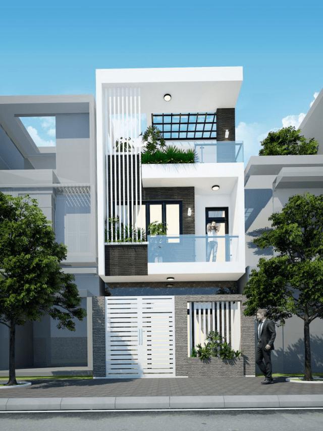 Thiết kế mẫu nhà đẹp 3 tầng ấn tượng nhất