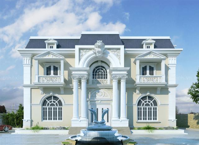 Kiến trúc tân cổ điển cùng vẻ đẹp còn mãi với thời gian