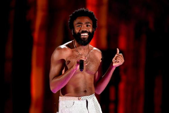 4f473d3726e8 Childish Gambino performs onstage during the 2018 iHeartRadio Music Festival  at T-Mobile Arena on