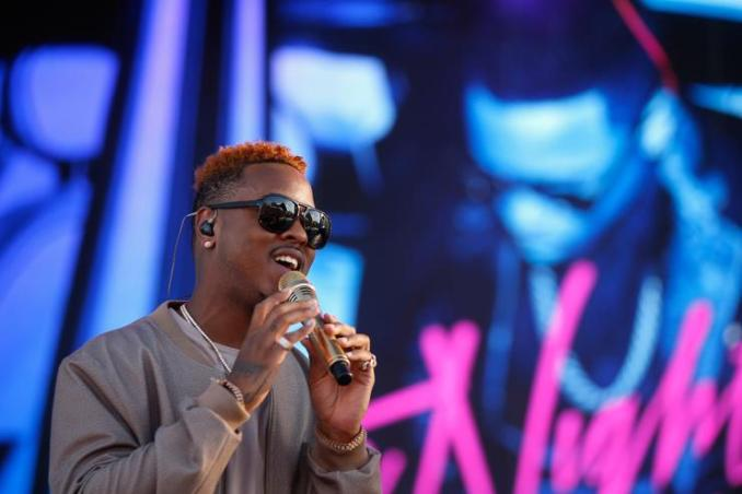 Jeremih performs onstage during the 2016 Daytime Village at the iHeartRadio Music Festival at the Las Vegas Village on September 24, 2016 in Las Vegas, Nevada