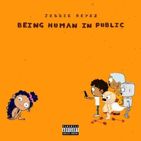 'Being Human in Public' EP artwork (Image Credits: HotNewHipHop)