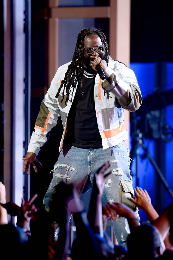 t-pain performing