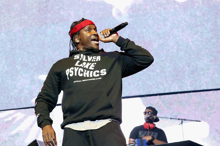 8c9faf10ed800 Recording artist Pusha T performs onstage at night one of the 2017 BET  Experience STAPLES Center