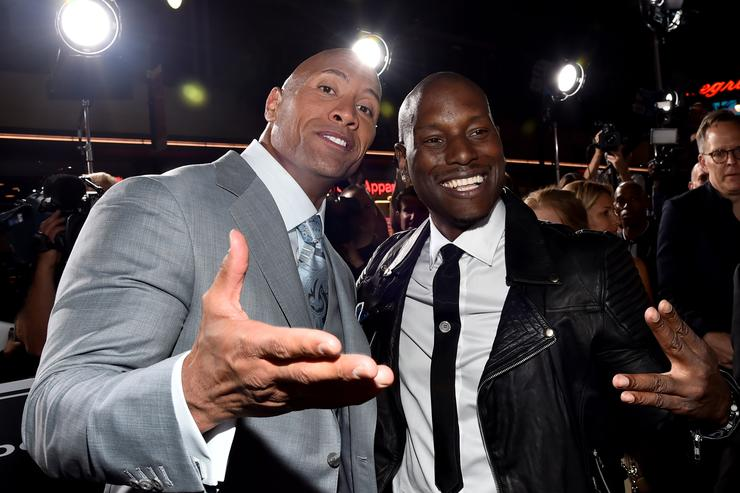 cbdab89f3a6 It doesn t look like The Rock   Tyrese will be friends anytime soon.