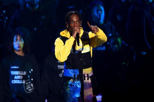 d545e19a3691 Travis Scott performs onstage during the 2018 MTV Video Music Awards at  Radio City Music Hall