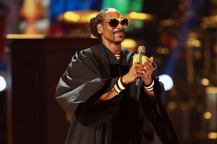 2b0751da9e Snoop Dogg performs onstage at the 2018 BET Awards at Microsoft Theater on  June 24