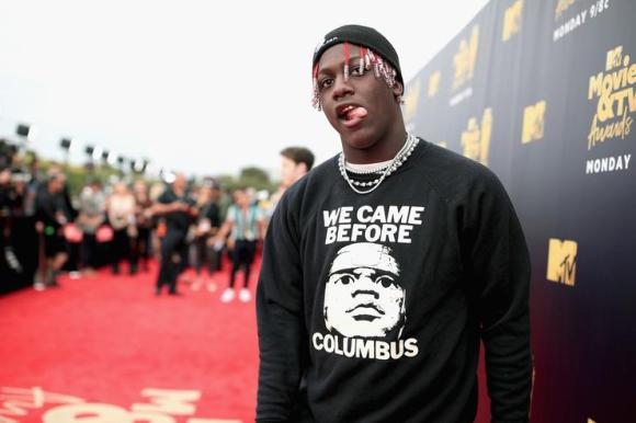 Recording artist Lil Yachty attends the 2018 MTV Movie And TV Awards at Barker Hangar on June 16, 2018 in Santa Monica, California.