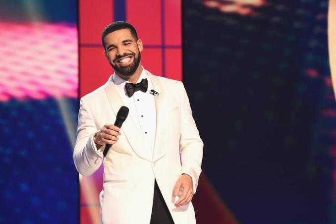 Drake speaks on stage during the 2017 NBA Awards Live On TNT on June 26, 2017 in New York City
