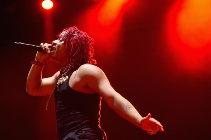 Trippie Redd performs onstage during Adult Swim Festival 2018 at ROW DTLA on October 6, 2018 in Los Angeles, California.