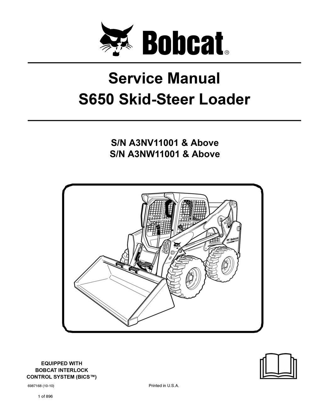 642 Bobcat Service Manual Wiring Diagram