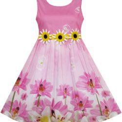 2fd5d1edcb8f6 Sunflower Dress Size 4   Gardening: Flower and Vegetables