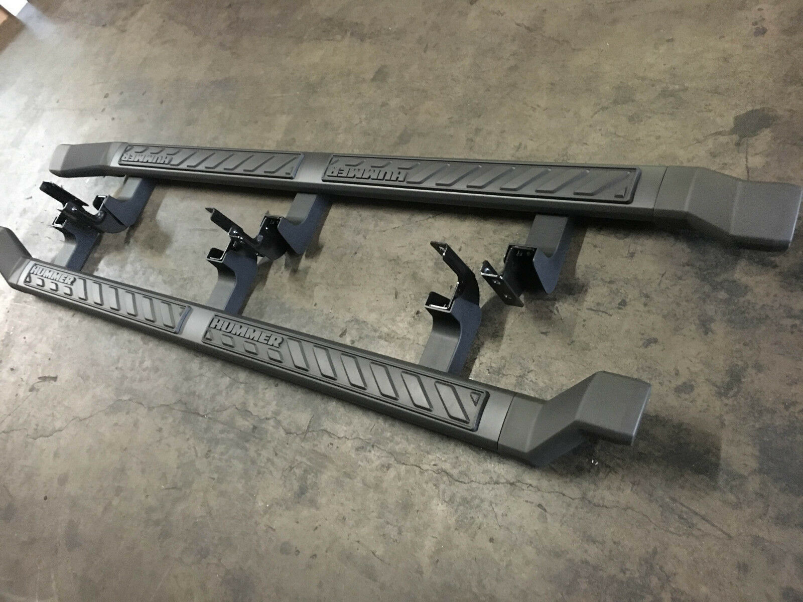 Hummer H3t Running Boards Nerf Step Rails OEM