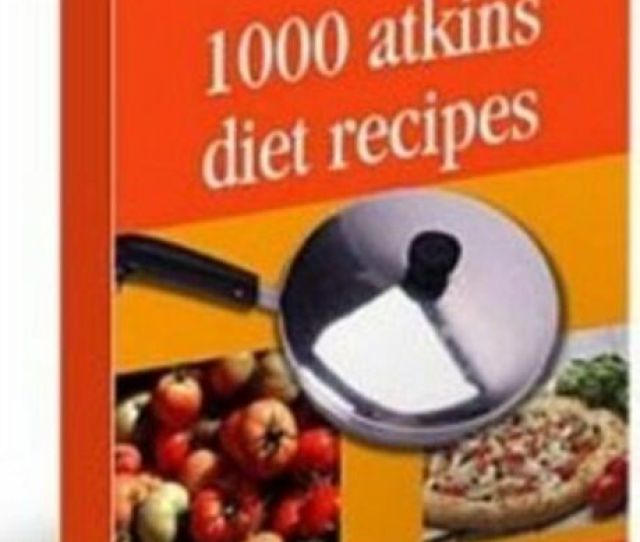 Atkins Diet Recipes Ebook Carb Gram Counter Fact Sheet On Cd