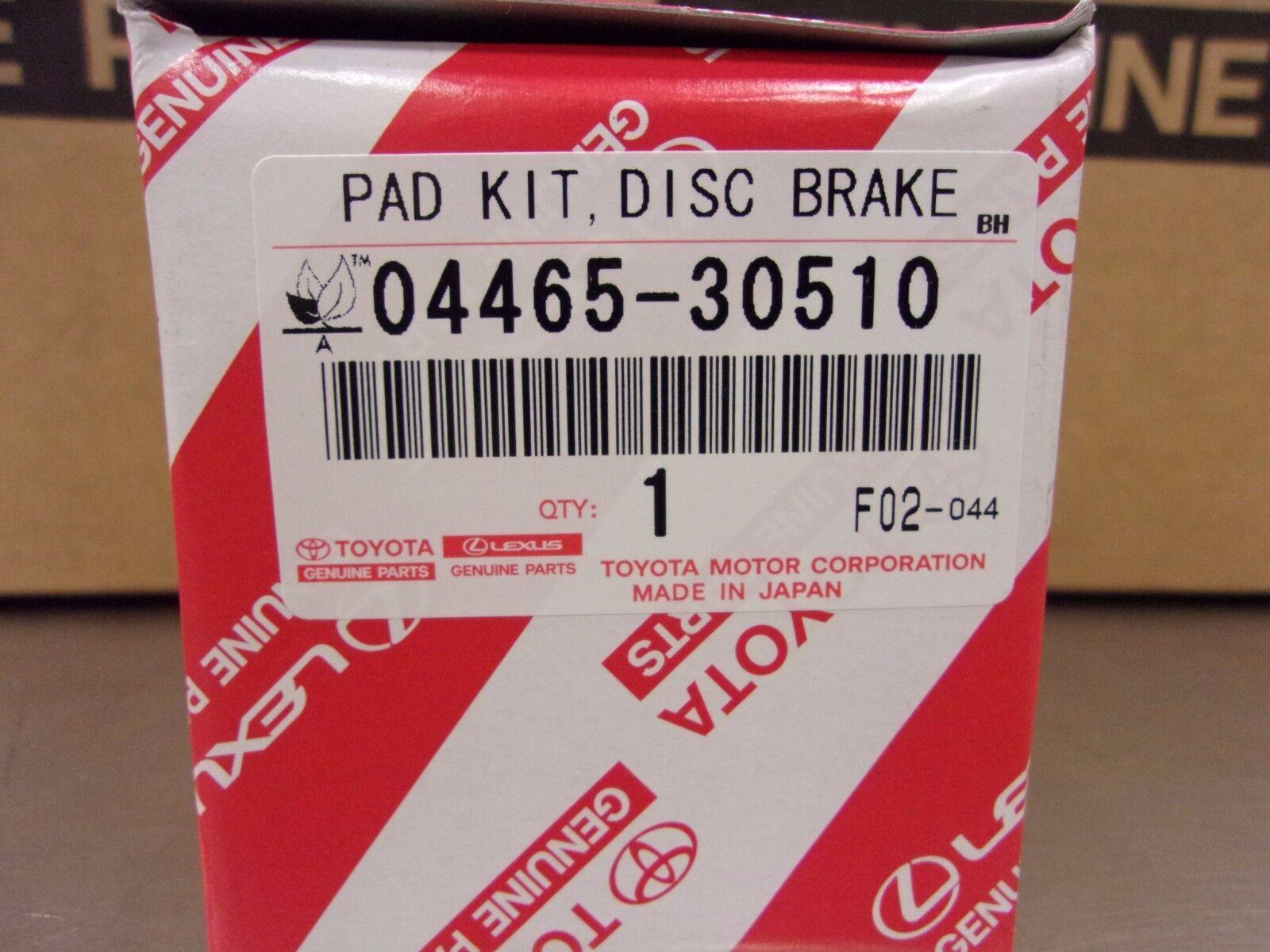 Lexus Part Genuine OEM Brake Pads