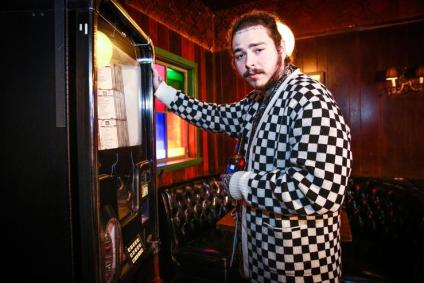 Post Malone at Bud Light Dive Bar concert