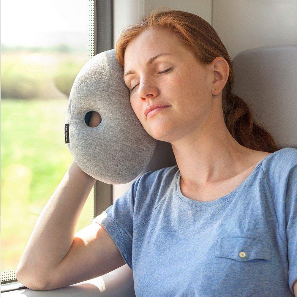 ostrichpillow mini travel pillow