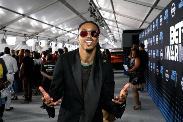 August Alsina at the BET Awards 2017
