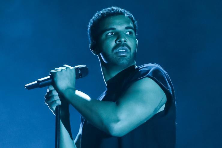 Singer Drake performs at the Coachella Valley Music and Arts Festival at The Empire Polo Club on April 12, 2015 in Indio, California.