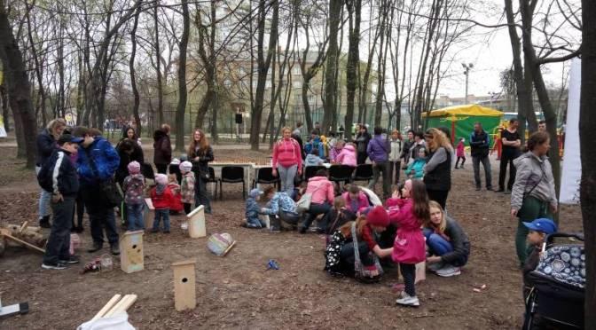 Прекрасний світ дитинства в Сирецькому парку