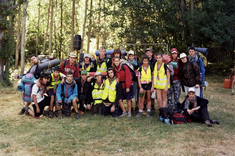 Salida Unidad Escultas raid 2011