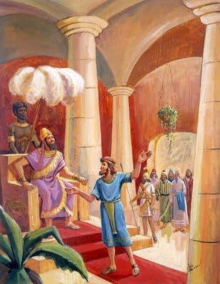 Daniel and Nebuchadnezzar
