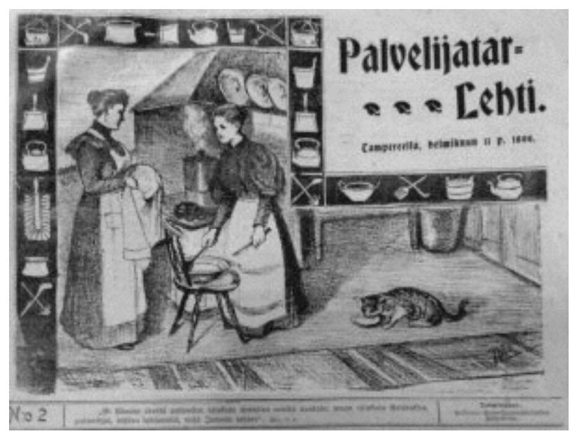 Finlandia 1906 Las socialistas conquistan el voto